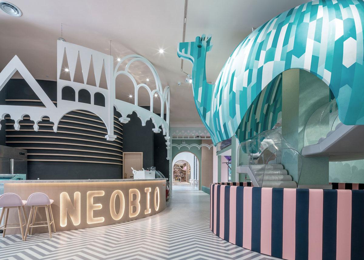 Ванільні фантазії в ресторані Neobio в Шанхаї